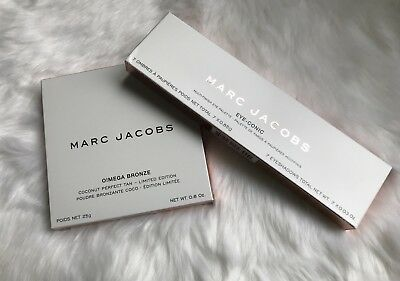 Marc Jacobs Coconut Collection Set  O!Mega Bronze & Eyeconic Fantascene