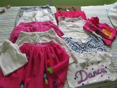 13 pc Girls Clothing Lot Sz 7-8 Spring Summer Gymboree Sanrio TCP Gap Limited OK