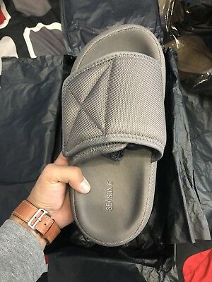 3933f78dd3bf1 Yeezy Season 6 Slides Taupe Size 38 Brand New straight from Yeezy Supply