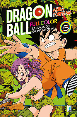 Manga - Star Comics - Dragon Ball Full Color 5 - Nuovo !!!