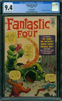Fantastic Four 1 CGC 9.4 - OW/W Pages - Golden Record Reprint