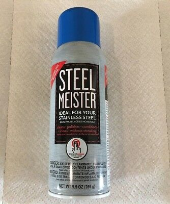 Steel Meister Stainless Steel Clean-Polish-Condition 854575003009 appliance
