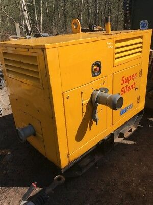 Selwood D100 Super Silent Diesel Water Pump 2007