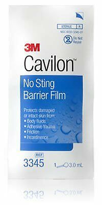 Barrier Film No Sting 3ML 100 Per Case sold, 3345 (100)