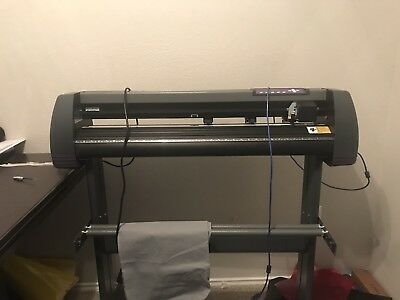 Vinyl Cutter USCutter MH 34-Inch Comes with blades and software