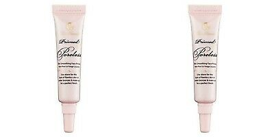 (2) Too Faced Primed & Poreless Skin Smoothing Face Primer 0.17 oz. Travel Size