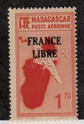 French Colonies(Madagascar),Scott#C28,1.75,MH,NF=$94