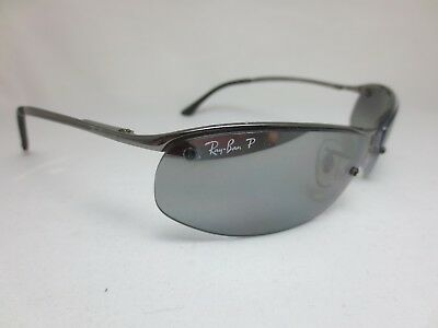 d08c62c435 RAY BAN RB 3179 TOP BAR POLARIZED SUNGLASSES 004 82 Semi-Rimless ITALY