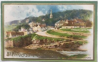 Vintage St. Patrick's Day postcardDunmore Co Waterford