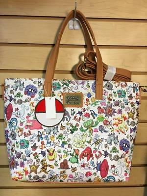 Loungefly Pokemon tote bag with long strap