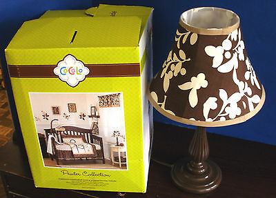 Cocalo~PEWTER COLLECTION~LAMP BASE & SHADE~NEW IN BOX