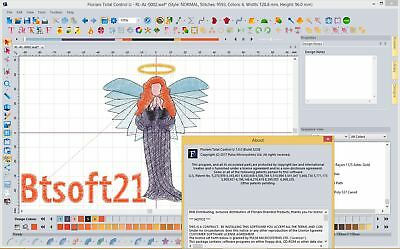 Floriani Total Control U Full Version NEW 2017 Embroidery software