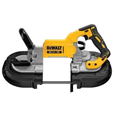 "DEWALT DCS374B 20V MAX 5"" Band Saw Deep Cut XR Cordless Li-Ion New Brushless"