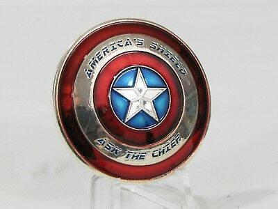US Navy USN Captain America Shield Ask Chief CPO Challenge Coin