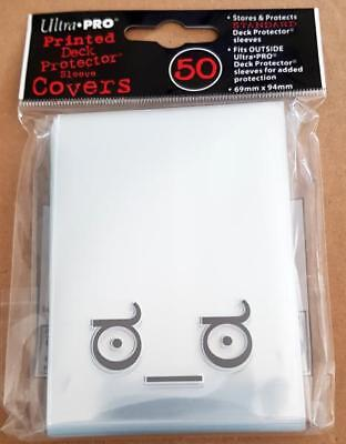 Ultra Pro Deck Printed Protector Sleeves 50 Card Sleeves Motif Face, for P