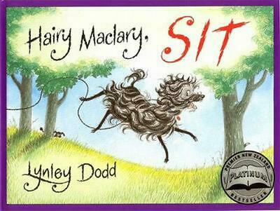 Hairy Maclary, Sit by Lynley Dodd Board Books Book Free Shipping!