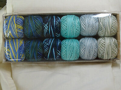 valdani  size 8 thread -Two in Water