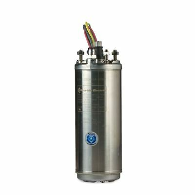 """Franklin 1/2 HP 4"""" Submersible Water Well Pump Motor 230V Single Phase 60 Hz"""