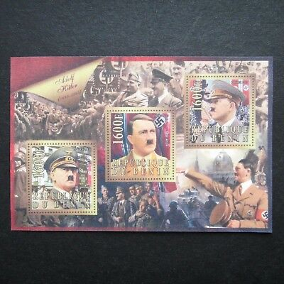 Germany Nazi 1889 - 1945 ? Stamps MINT Sheet Adolf Hitler Swastika WWII Third Re
