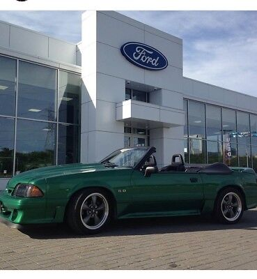 1988 Ford Mustang GT Foxbody Mustang GT Convertible