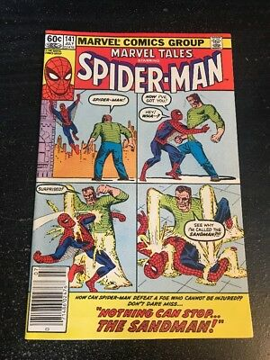 Marvel Tales Starring Spider-Man#141 Incredible Condition 9.0(1982) Sandman!!