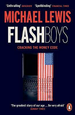 Flash Boys by Michael Lewis (English) Paperback Book Free Shipping!