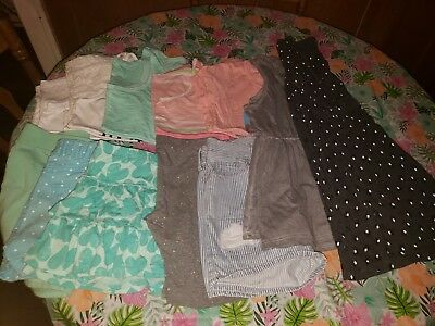 Lot of 12 pcs- Youth Girls Size 10 & 10/12 Spring/Summer Justice/Old Navy/etc.