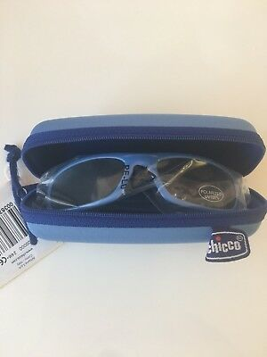 Chicco Kids Infant Sunglasses, Polarized 100% UV Protection. Age 2 Years +. Blue