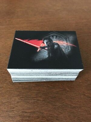 Star Wars Topps Journey To The Last Jedi Darkness Rises Lot Of 50+
