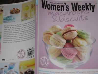 Womens Weekly Cookbook Macaroons And Biscuits  Recipes Parties