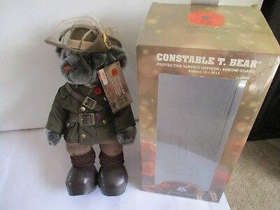 Constable T. Bear   Protective Service Officer - Shrine Guard  Edition 15 - 2015