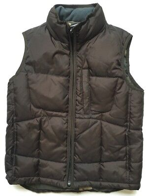 Gap Boys Puffy Vest Brown Size S Outerwear