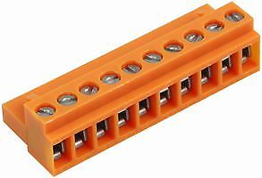 SOCKET BLOCK SCREW 10WAY Connectors Terminal Blocks - CZ58585