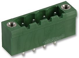 TERMINAL BLOCK MALE FLANGED 4 POLE Connectors Terminal Blocks - CZ55680