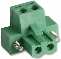 TERMINAL BLOCK FLANGED FEMALE 2 POLE Connectors Terminal Blocks - CZ55660
