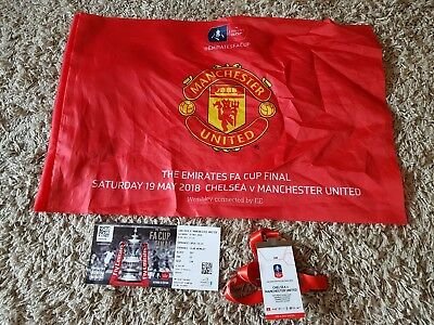 fa cup final 2018 package, man united, chelsea, football, wembley