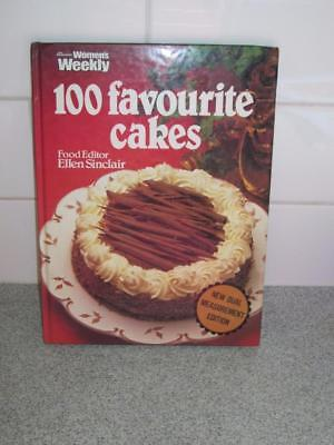 Womens Weekly Retro VINTAGE 100 Favourite cakes cookbook recipe DUAL MEASUREMENT