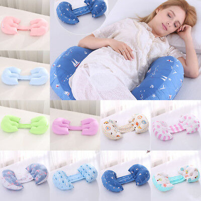Maternity Folding Pillow Pregnancy Nursing Body Side Sleeping Support Pillow