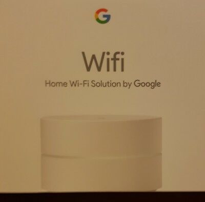 Google WiFi Mesh Router 2.4GHz 5GHz wi-fi Expandable (single unit NEW)