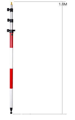 "New - Leica ""Style""  Prism Pole   Up to 4.6M  Pole"