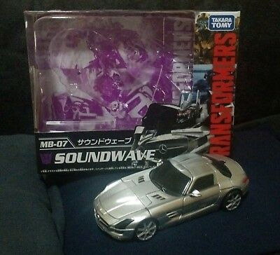 Transformers Takara Movie the Best Human Alliance Soundwave Complete with Box