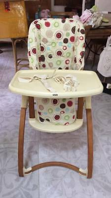 Fisher Price High Chair with recline and height adjust
