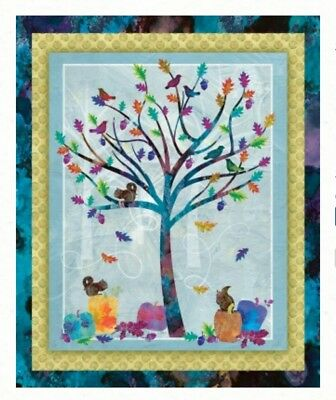 Autumn Hues Quilt Panel * Gorgeous  * New *  Free Post *