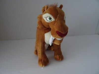 Ice Age Diego Sabre Tooth Yiger Plush Soft Toy