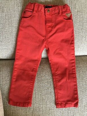 Mayoral Brand - Red Jeans - 24 Mths (Spain)