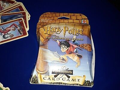 Harry Potter and philosopher's stone quidditch card game by Mattel.