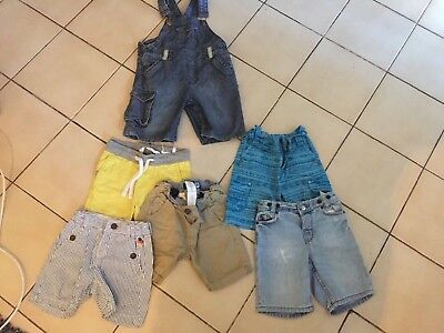 Lot shorts salopette garcon 2 3 ans sergent major Zara ete printemps h m