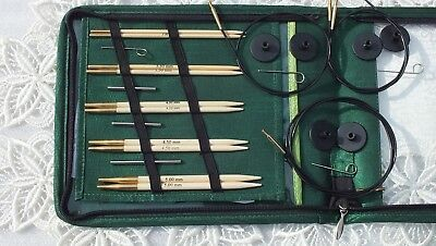 AUD KnitPro interchangeable needle set Bamboo - STARTER