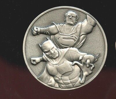 Challenge Coin  Superman Vs Batman pewter