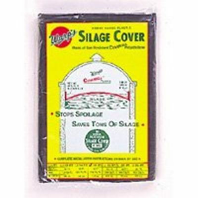 Silage Cover Round 24' Livestock Cattle 3 mil Silo Cover Heavy Duty Frementation
